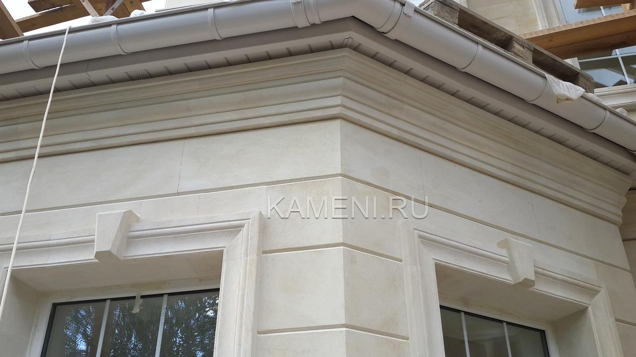 Облицовка фасада камнем — 0148