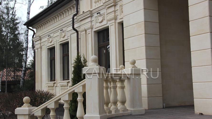 Отделка фасада натуральным камнем — фото 3763