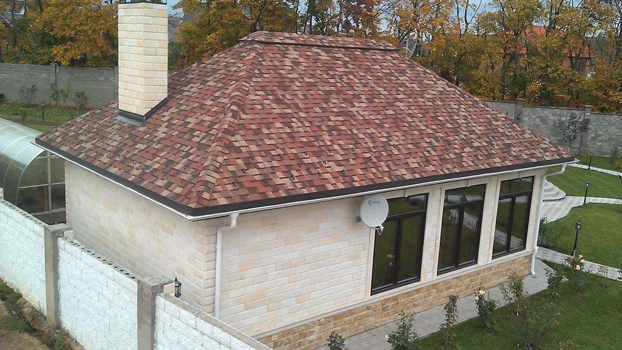Фасадная облицовочная плитка: фото — Фасад 1676-2