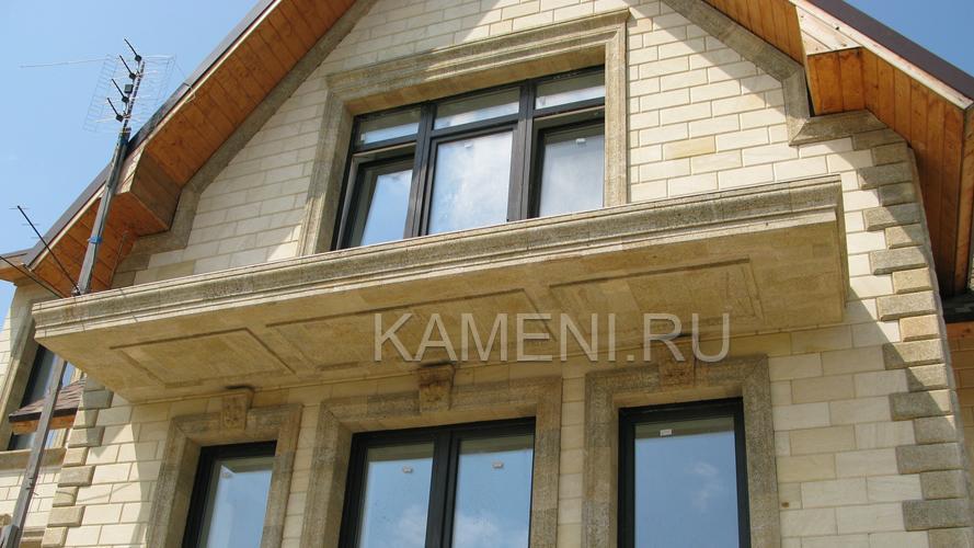 Натуральный камень для фасада в Москве (5185)