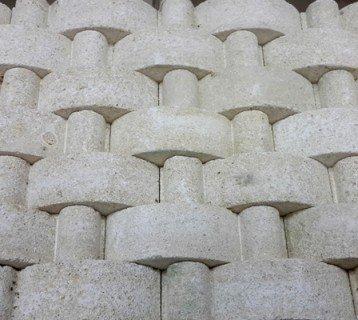 Мозаика из песчаника