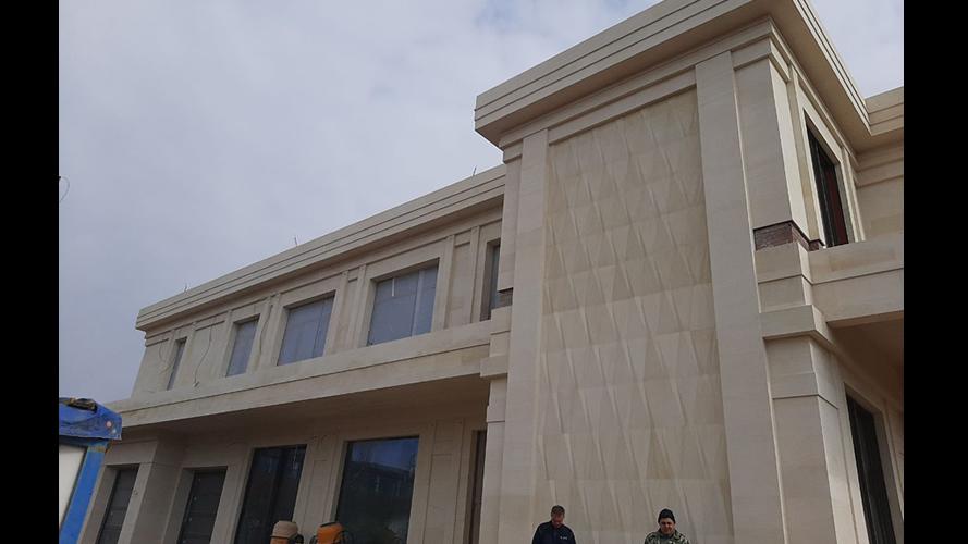 Облицовка песчаником ПДБ фасада (1880)
