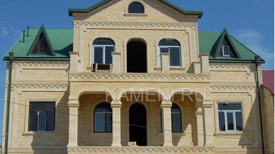 Фасад из песчаника (РЕЗЕРВ)