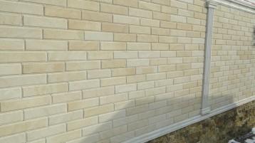 Забор из песчаника светло-желтого (8011)