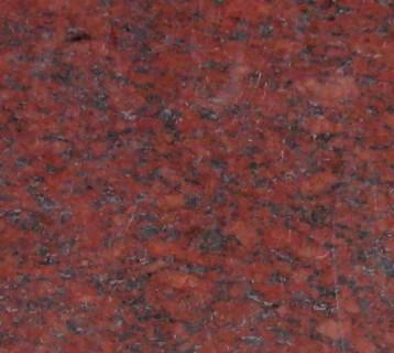 Структура гранита Руби Ред
