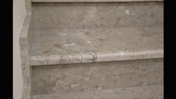 Ступени Доломит кремого-серый ДОК (0849)