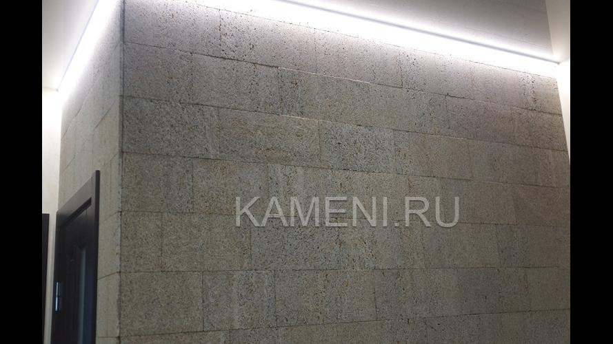 Стена из ракушечника