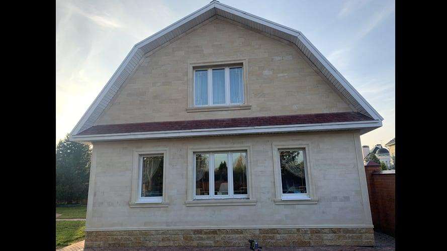 Гостевой дом из светлого песчаника (2415)