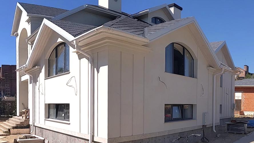 Белый известняк Фасад (2155)