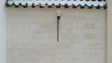 Отделка стен дома камнем песчаником — Фасад песчаника 1281