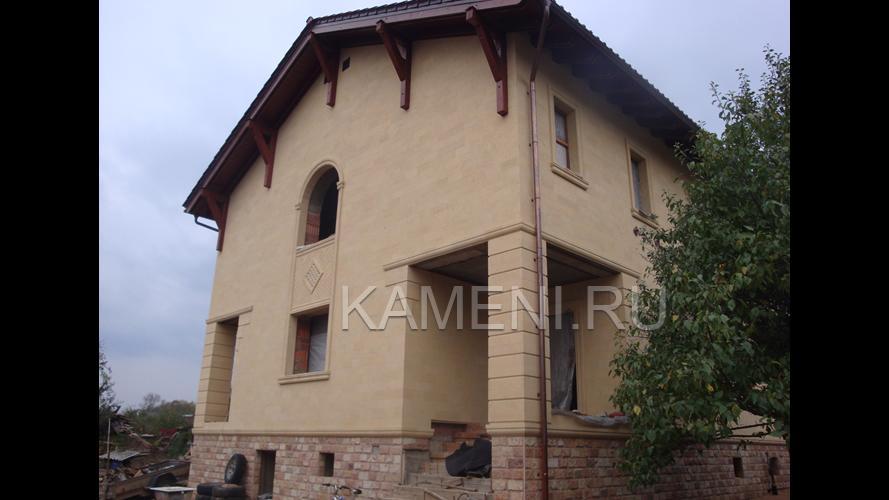 Дагестанский камень ракушечник — фасад 1981