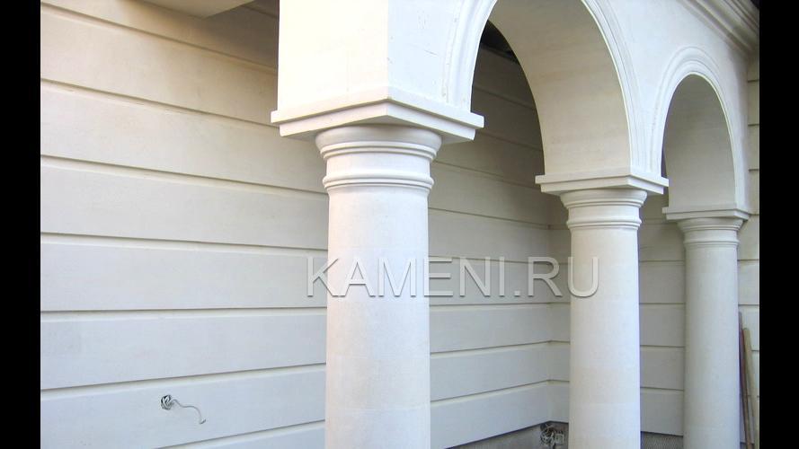 Фасадная плитка из известняка