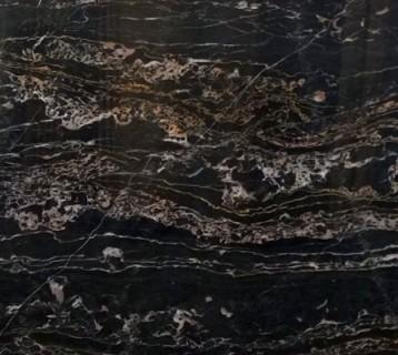 Структура мрамора Неро Порторо